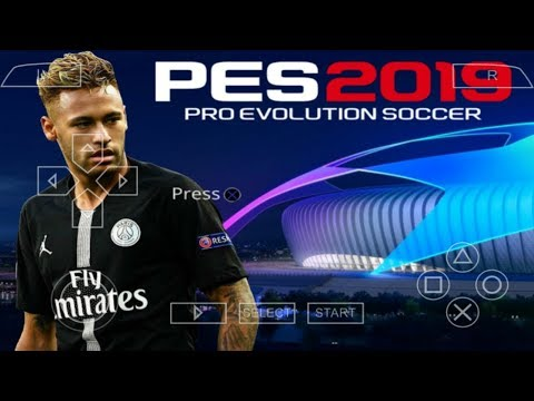 PES 2019 PPSSPP Android Offline 900MB Best Graphics New Kits & Transfers Update