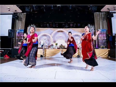 (Uhi kholima pani | Rajan Gurung & Devi Gharti को  गित बेलायतमा  प्रीति र अरबिन को बिबाहमा घन्किदै - Duration: 3 minutes, 30 seconds.)