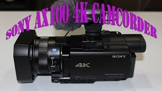 Sony FDR-AX100 Review