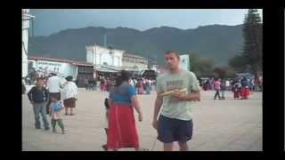 Tajumulco Volcano And Nebaj - Ixil Mayan Town In El Quiche, Guatemala 2011