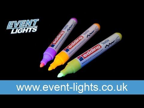 Edding Neon Textil Marker 2-3mm
