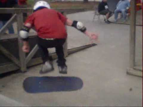 A DAY AT BAYOU WHEELS SKATE PARK.wmv