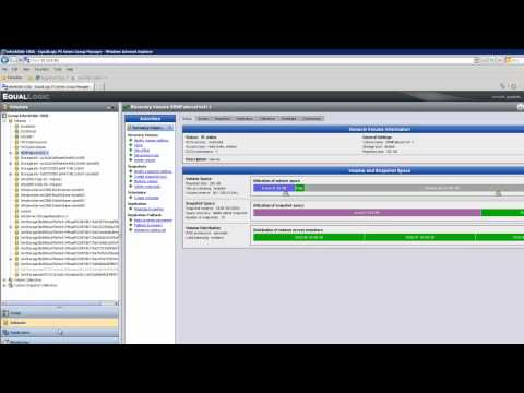 Disaster Recovery with Dell EqualLogic and VMware SRM 5 Part 4