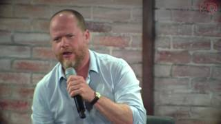 #NerdHQ  July 21-24, 2016  San Diego New Children's Museum A Conversation For A Cause with Joss Whedon at Nerd HQ on Sunday, July 24. Brought to you by AMD...