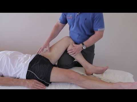 How to treat a Strain / tear of the Adductor Muscle (Groin strain) using Kinesiology tape