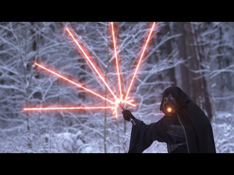 Star Wars Modern Lightsaber Battle