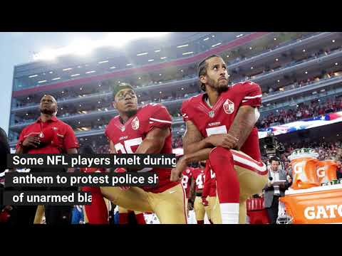 NFL changes national anthem policy to ban kneeling
