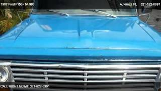 1967 Ford F150 reg cab - for sale in Melbourne, FL 32935