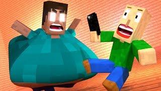 BALDI'S BASICS VS Herobrine - Funny Minecraft Animations