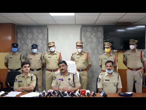 Kidnap Mystery Chased By Vizag Police CP Press Meet in Visakhapatnam,Vizag Vision...
