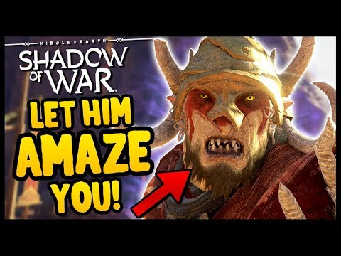 ORCS ARE DOING MAGIC TRICKS NOW?! | Shadow of War - Desolation Of Mordor Funny Moments Gameplay (видео)