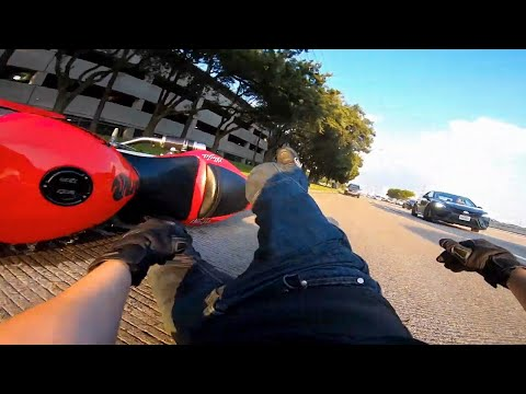 Lady Hits Biker! - Scary And Crazy Motorcycle Crashes 2020 [Ep.5]