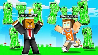 I PRANKED My ADMINS with RAINING Creepers in Minecraft
