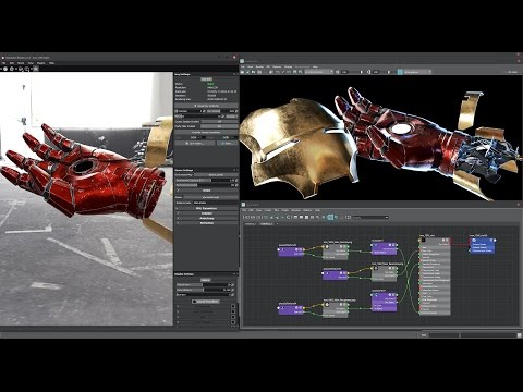 Substance Painter to Arnold 5 perfect Workflow on Hard Surface model - Tutorial - NSFW