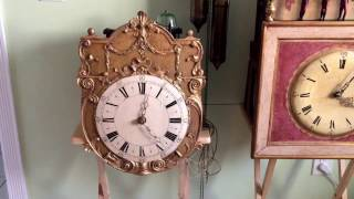 1700's Glass Bell Clock