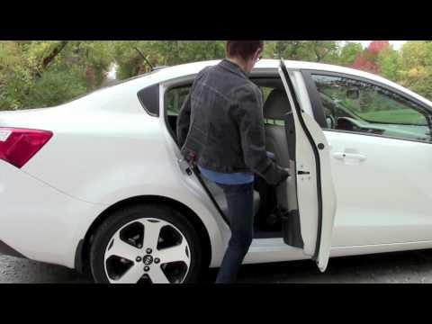 Kath Renwald reviews the Kia Rio SX sedan
