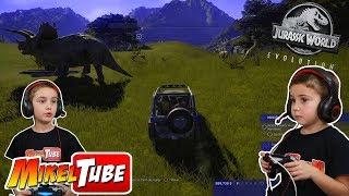 Nuestro parque de dinosaurios en Jurassic World Evolution