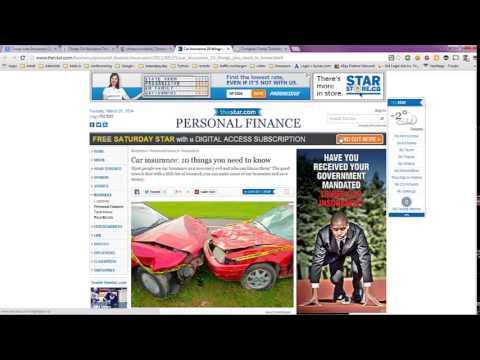 Cheap Auto Insurance Quotes in Toronto, CA Canada