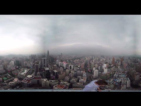 Kiipeilijöiden 360 asteen videota pilvenpiirtäjän huipulta – Nyt ottaa mahanpohjasta