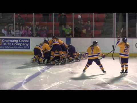 Elmira College Women's Ice Hockey vs. Trinity College