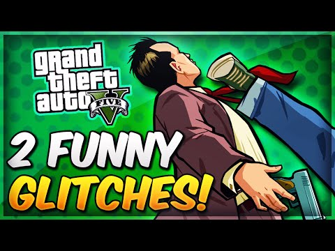 Gta 5 Glitches - Drive Invisible Cars & Character Spinning Animation Glitch! (funny Glitches Online)