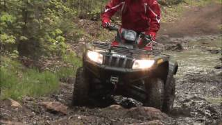 1. Dirt Trax Test Rides 2009 Arctic Cat 550