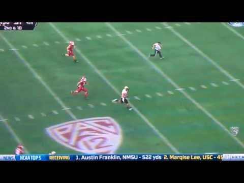 Nick Kasa 70-yard touchdown vs Washington St. 2012 video.