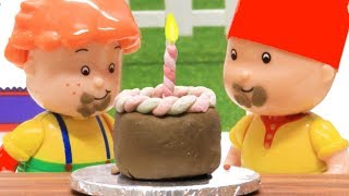 Leo's Birthay | Funny Animated cartoons Kids | WATCH ONLINE | Caillou Stop Motion