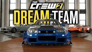 Customizing My DREAM TEAM In The Crew 2!