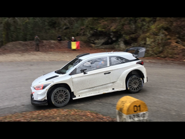 Hyundai i20 WRC 2017 Monte Carlo Test - Thierry Neuville / Nicolas Gilsoul
