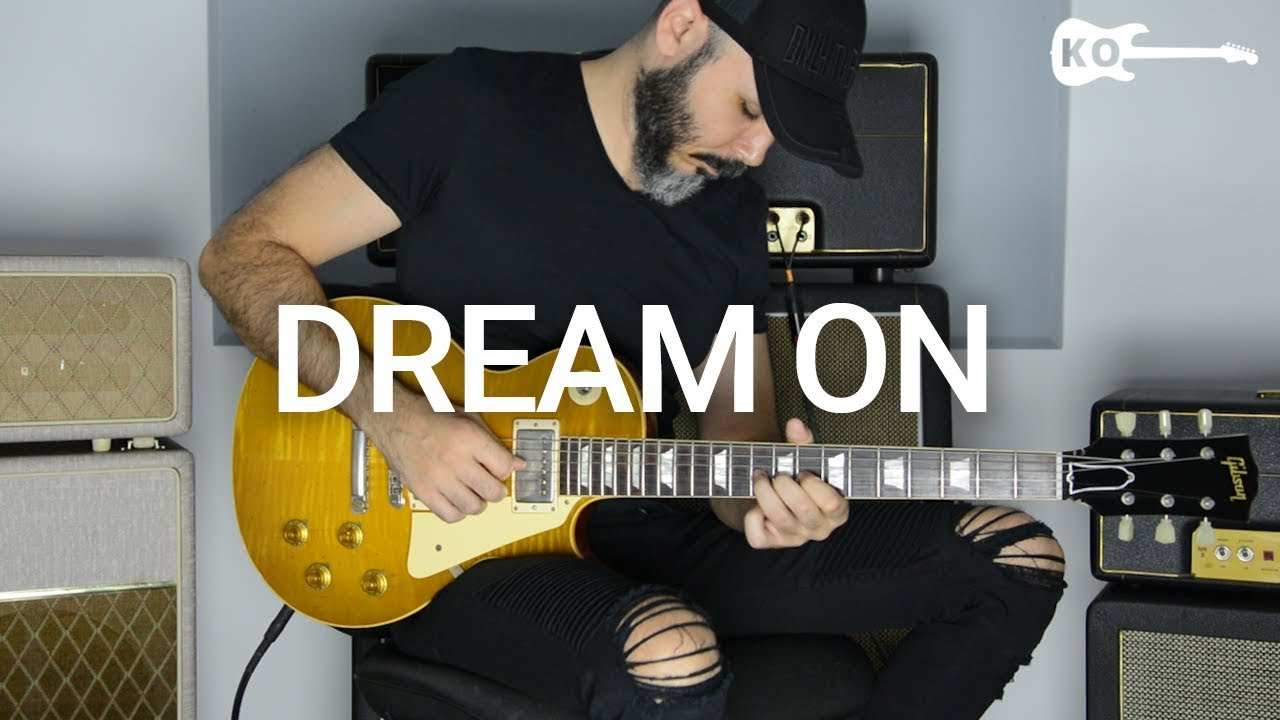 Aerosmith – Dream On – Electric Guitar Cover by Kfir Ochaion