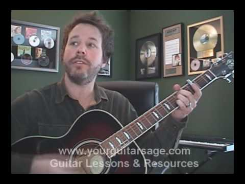 Guitar Lessons – Long December by Counting Crows – Beginners Acoustic songs lesson tutorial