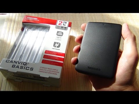 Внешний жесткий диск Toshiba CANVIO BASICS 2TB / Арстайл /