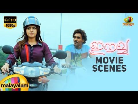 Eecha Movie Scenes - Eecha/Nani punishes a guy teasing Samantha - Sudeep, Samantha