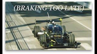 Pro Drifter Ryan Tuerck vs Autonomous Race Car in Human + Machine Challenge
