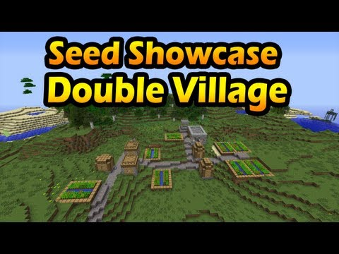 Minecraft Seeds: Double Village + Stronghold (HD)