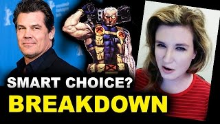 Josh Brolin is Cable today! Beyond The Trailer's reaction & breakdown of Deadpool 2 casting news! Isn't he Thanos in Avengers Infinity War? http://bit.ly/sub...