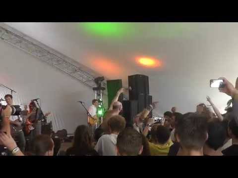 """I'm not some, you know, stoner- bad pothead"" @FUCKEDUP live @BKSfestival [video] #bks14"