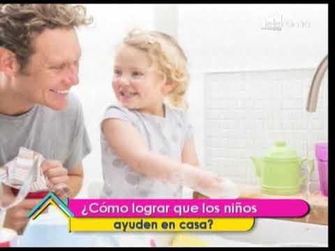 ¿Cómo lograr que los niños ayuden en casa?