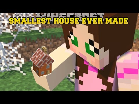 thumbnail for video kh4z 8jlup0 minecraft smallest house - Smallest House In The World Minecraft
