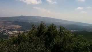 Kerem Ben Zimra Israel  city pictures gallery : Panorama (East) from Mount Meron, Israel