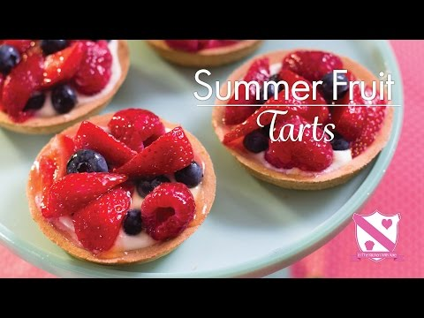 Summer Fruit Tart - In The Kitchen With Kate