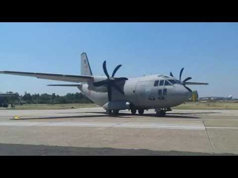Flight day with the C-130 Hercules,...