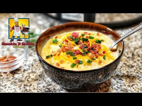 Loaded Baked Potato Soup | Crock Pot Recipes