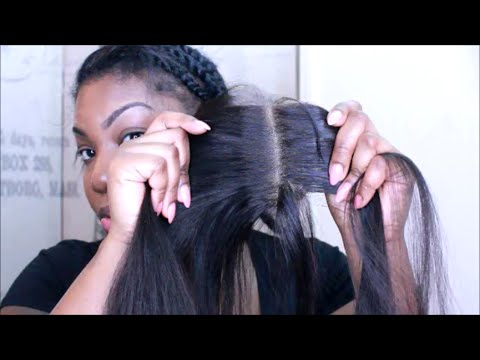 How To Prep Your LACE CLOSURE| FLAT & NATURAL