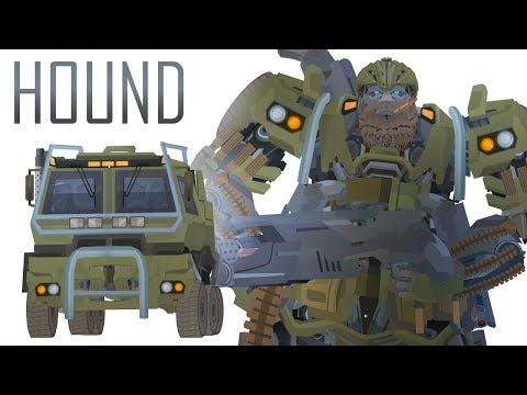 HOUND - Short Flash Transformers Series