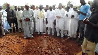 Late Sanusi Abubakar's burial at Gudu Cemetry Apo Abuja