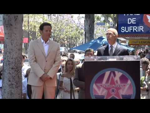 Mark Burnett Walk of Fame Ceremony