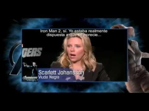 Entrevista Scarlett Johansson y Jeremy Renner - Avengers: Los Vengadores