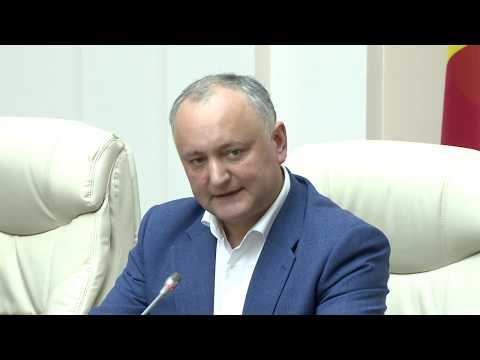 Președintele țării a prezidat o ședință privind gestionarea crizei generate de COVID-19